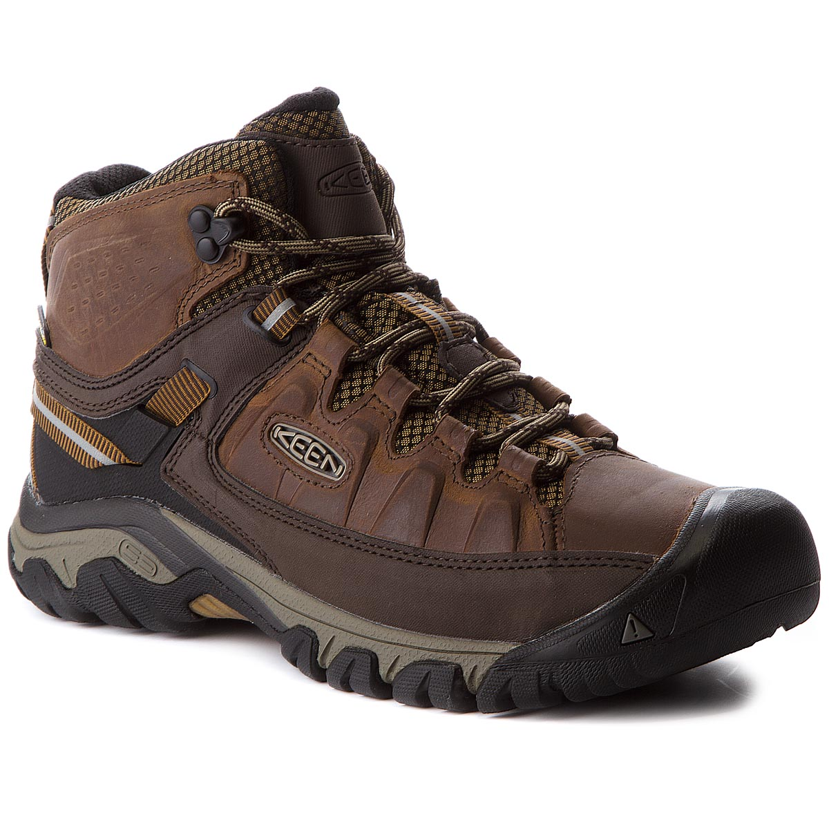 Trekkings KEEN - Targhee III Mid Wp 1018570 Big Ben/Golden Brown