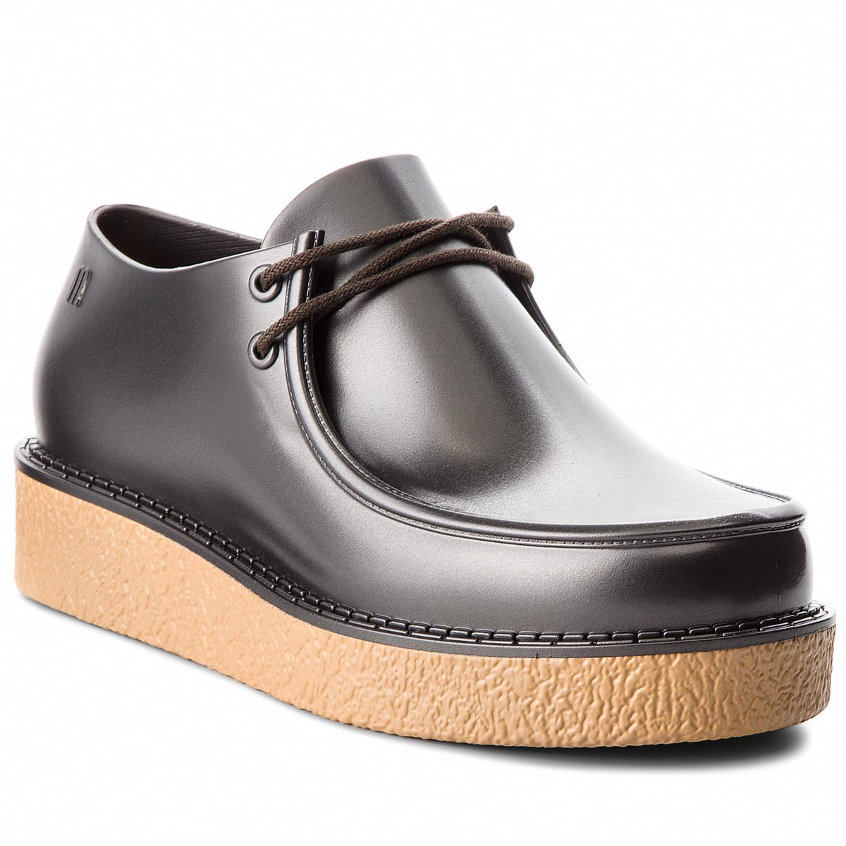 Pantofi MELISSA - Billy Creepers Ad 32318 Beige/Silver 52009