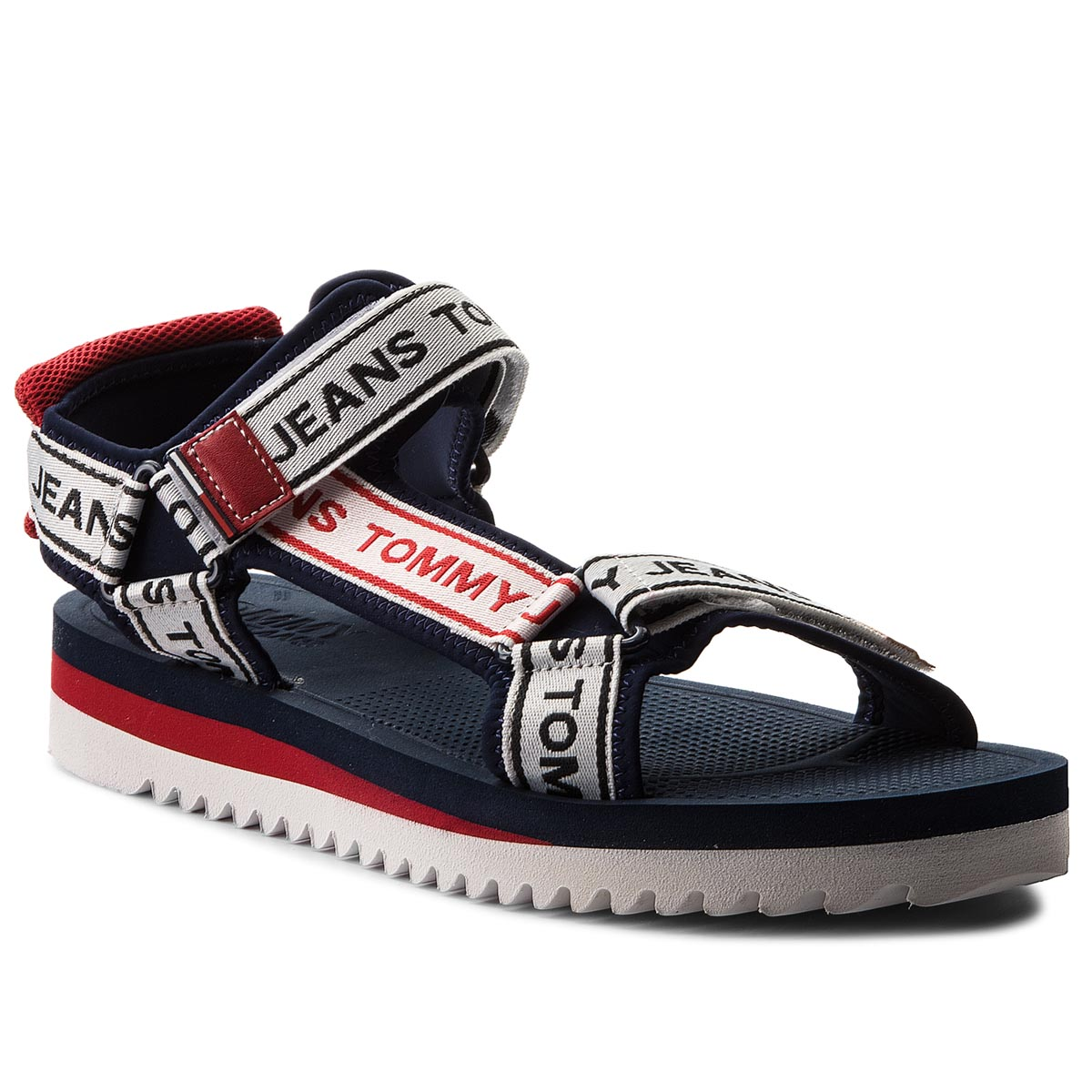 Sandale TOMMY JEANS - Mens Tommy Jeans Technical Sandal EM0EM00160 Midnight 403