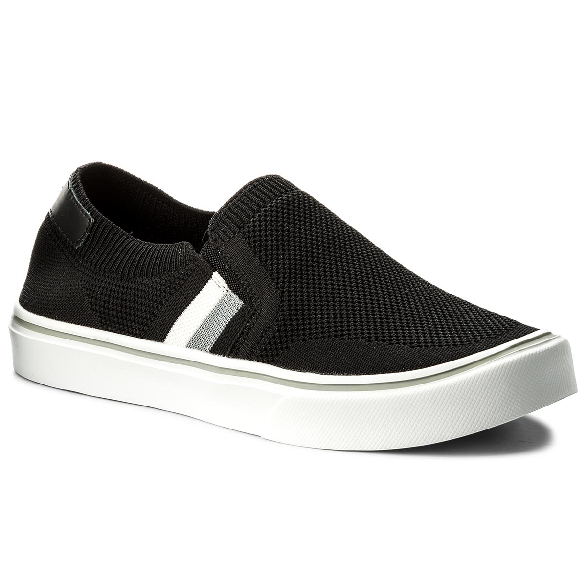 Teniși TOMMY HILFIGER - Lightweight Corporate Slip On FM0FM01634 Black 990