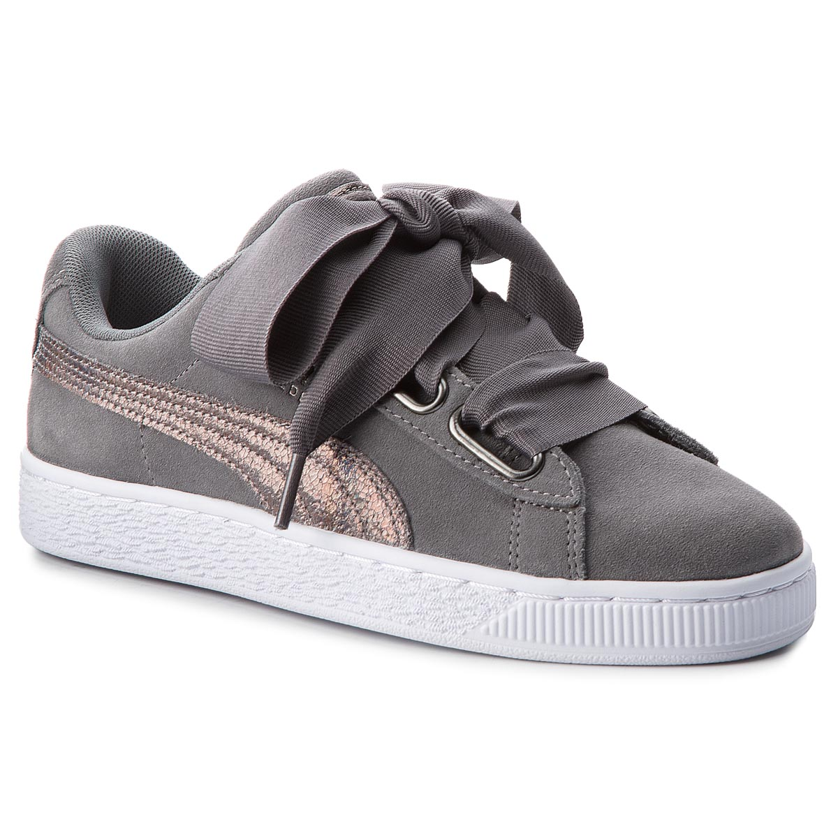 Sneakers PUMA - Suede Heart LunaLux Wn's 366114 01 Smoked Pearl