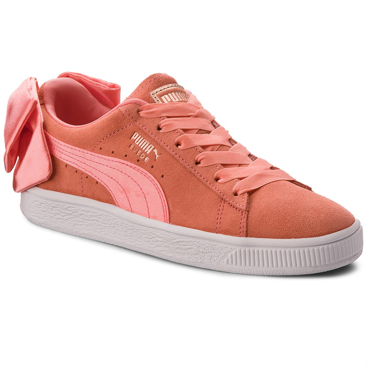 Sneakers PUMA - Suede Bow Jr 367316 01 Shell Pink/Shell Pink