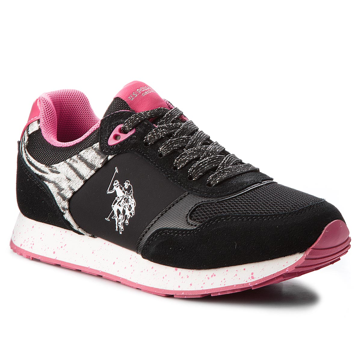 Sneakers U.S. POLO ASSN. - Thea FREE4030S8/LT1 Blk/Fux