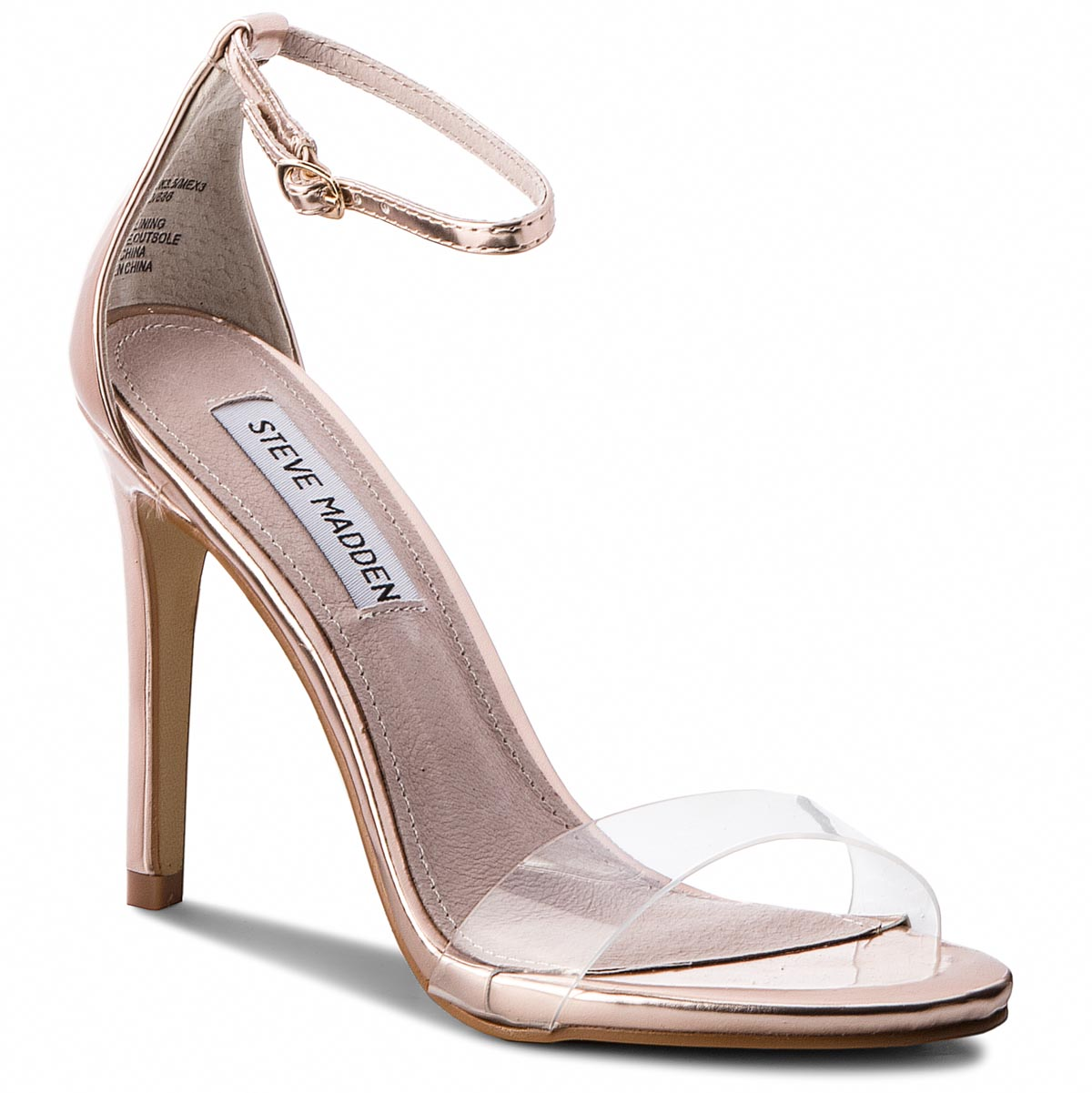 Sandale STEVE MADDEN - Stecy-C High Heel Sandal 91001144-07099-15002 Rose Gold