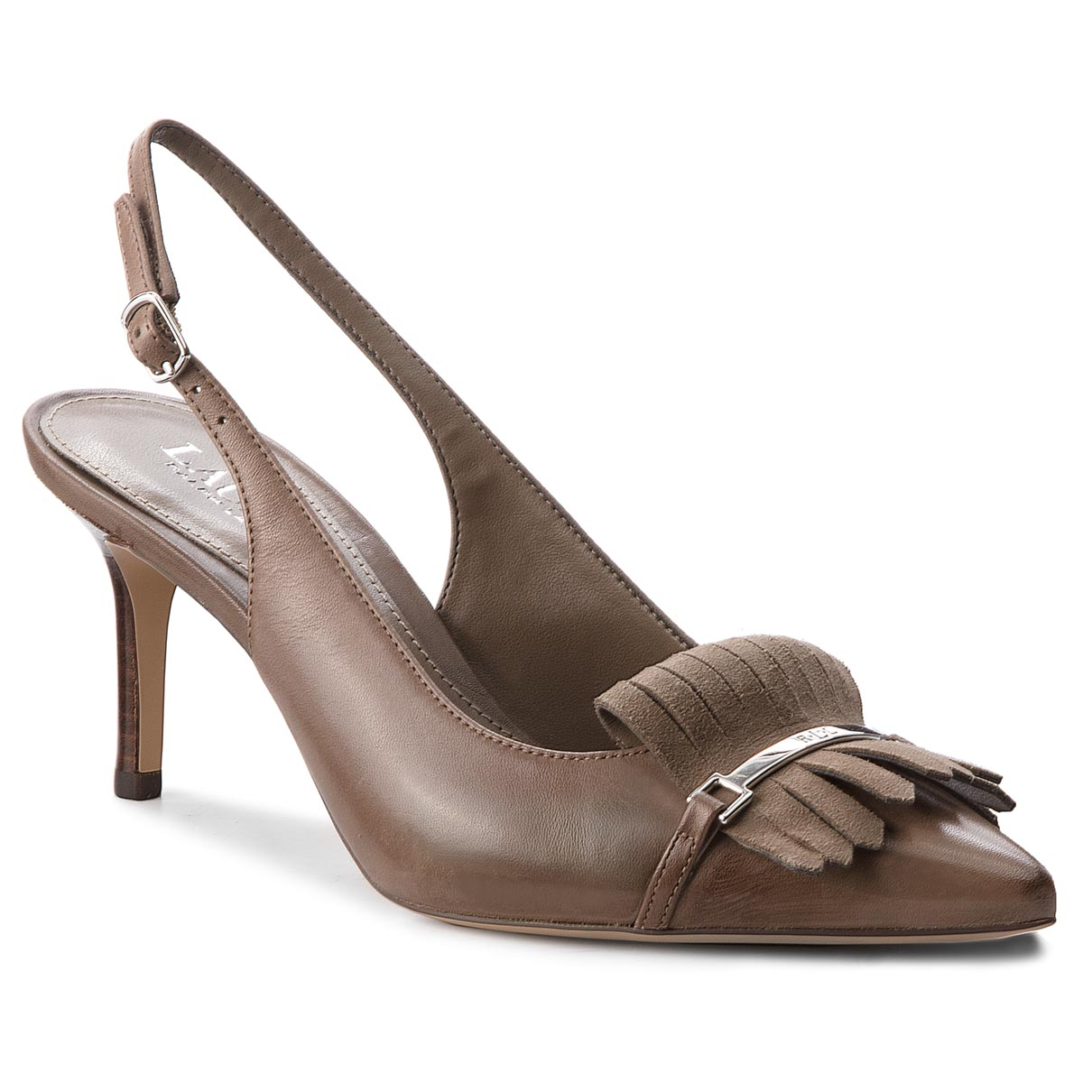 Sandale LAUREN RALPH LAUREN - Latasha 802709662003 Light Taupe/Light Taupe