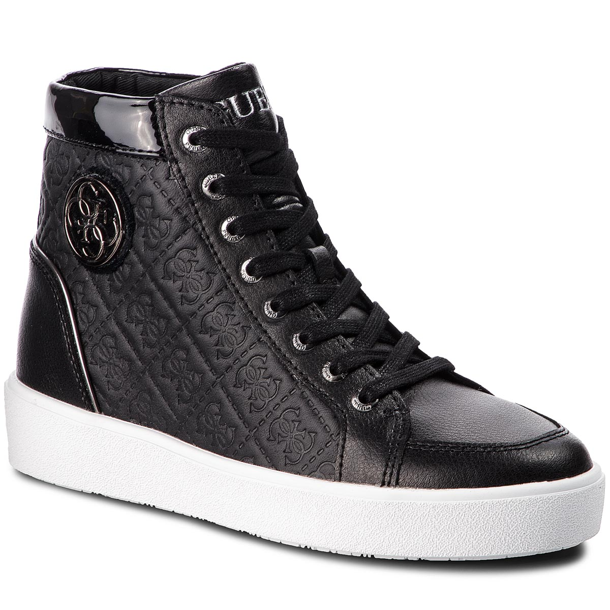 Sneakers GUESS - FLACE3 LEP12 BLACK