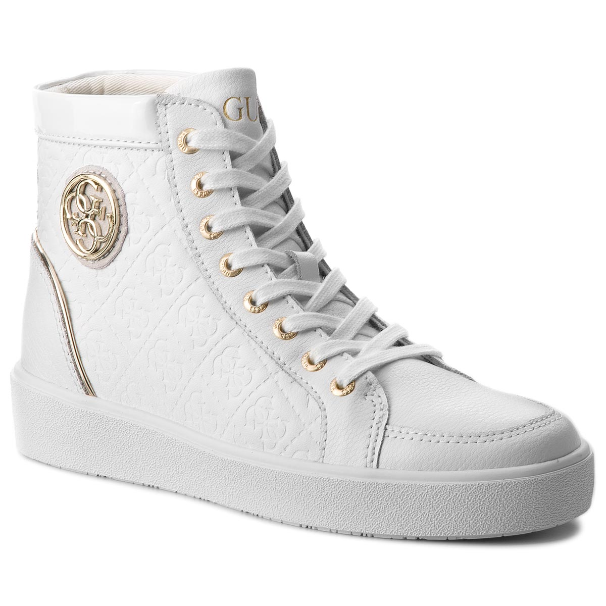 Sneakers GUESS - FLACE3 LEP12 WHITE