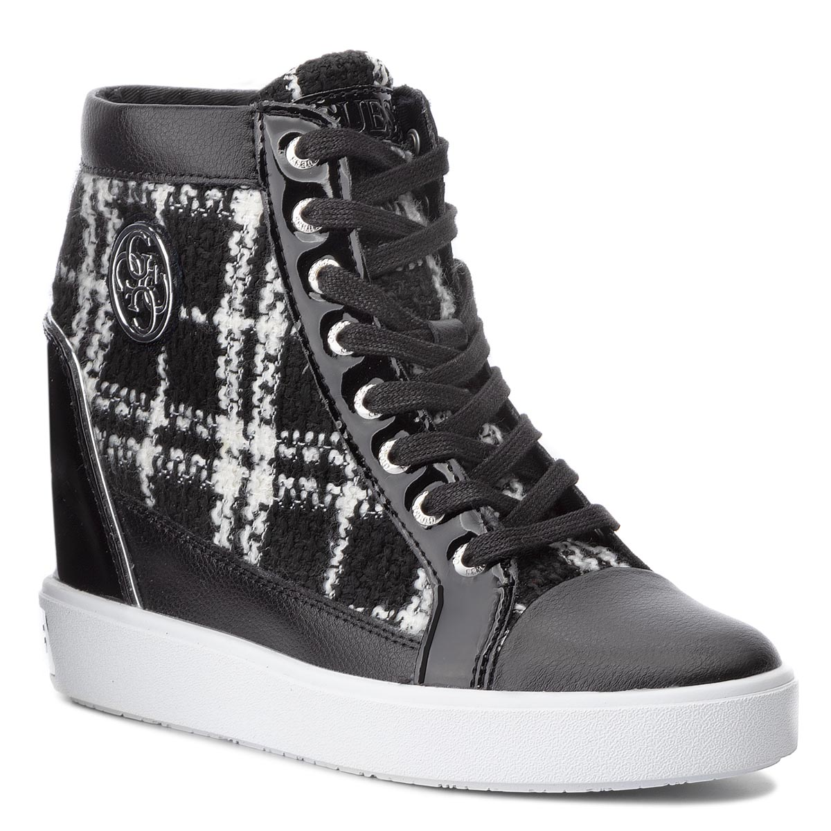 Sneakers GUESS - FLFRR3 FAB12 WHIBL