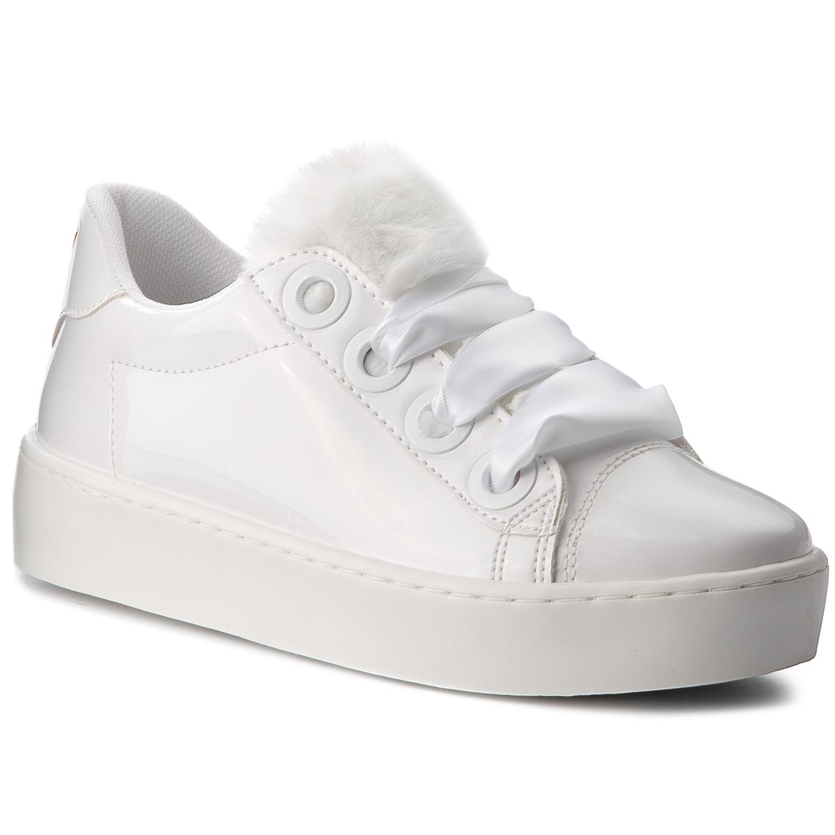 Sneakers GUESS - FLURN3 PAF12 WHITE
