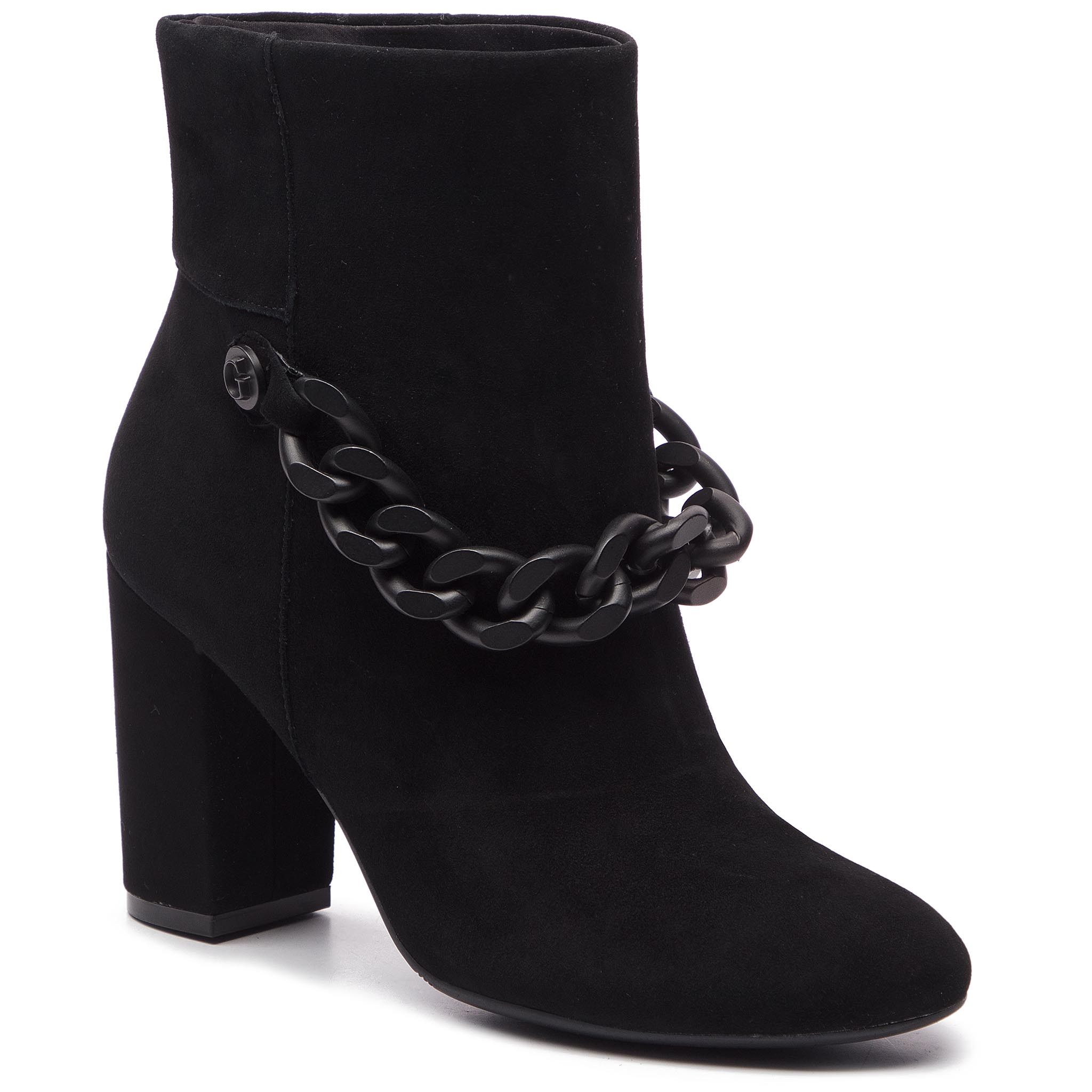 Botine GUESS - FLAKN4 SUE10 BLACK