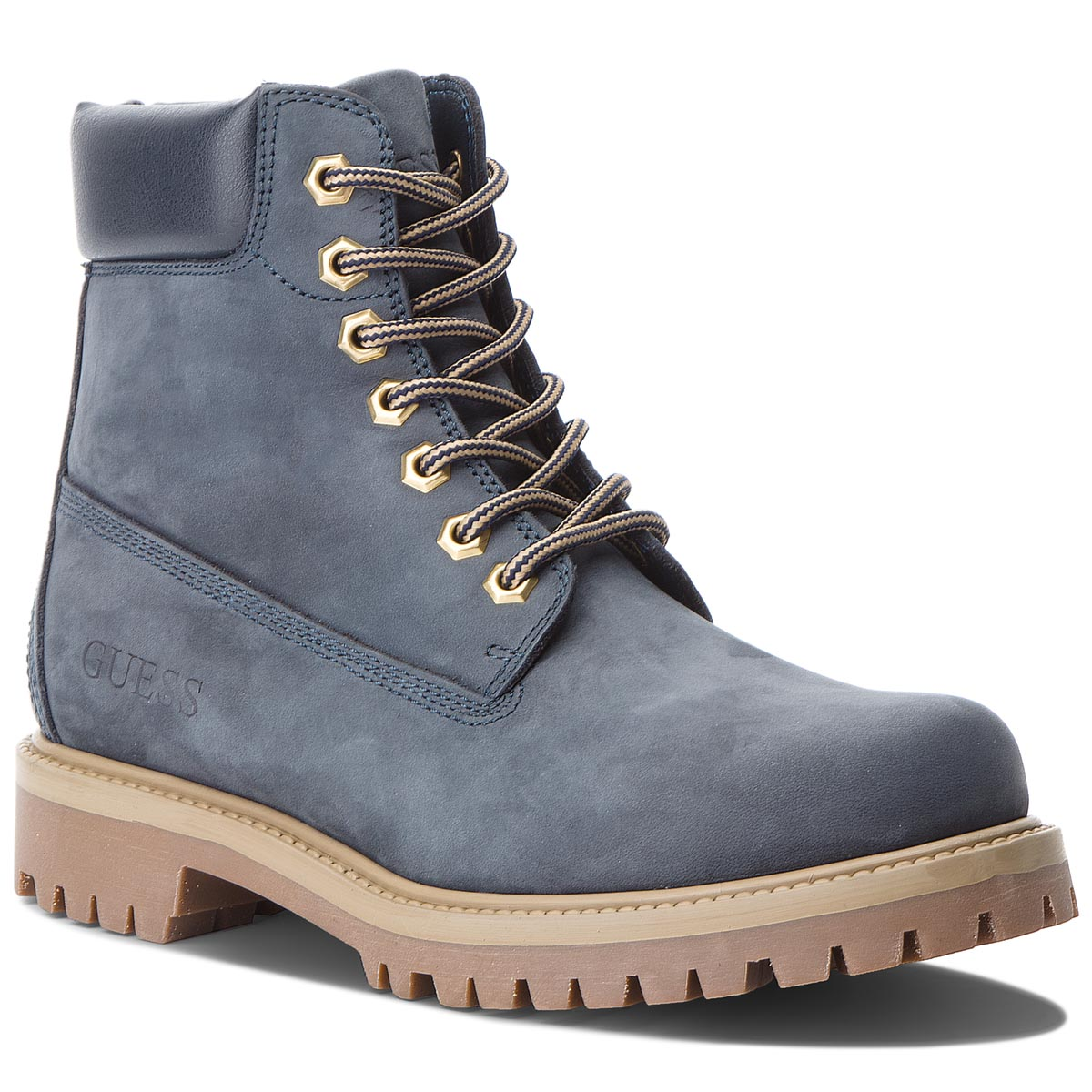 Trappers GUESS - FMEDW4 LEA10 Navy