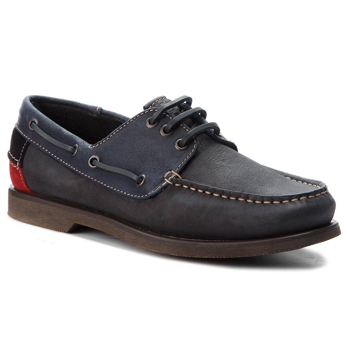 Mocasini TOMMY JEANS - Winter B EM0EM00158 Ink 006