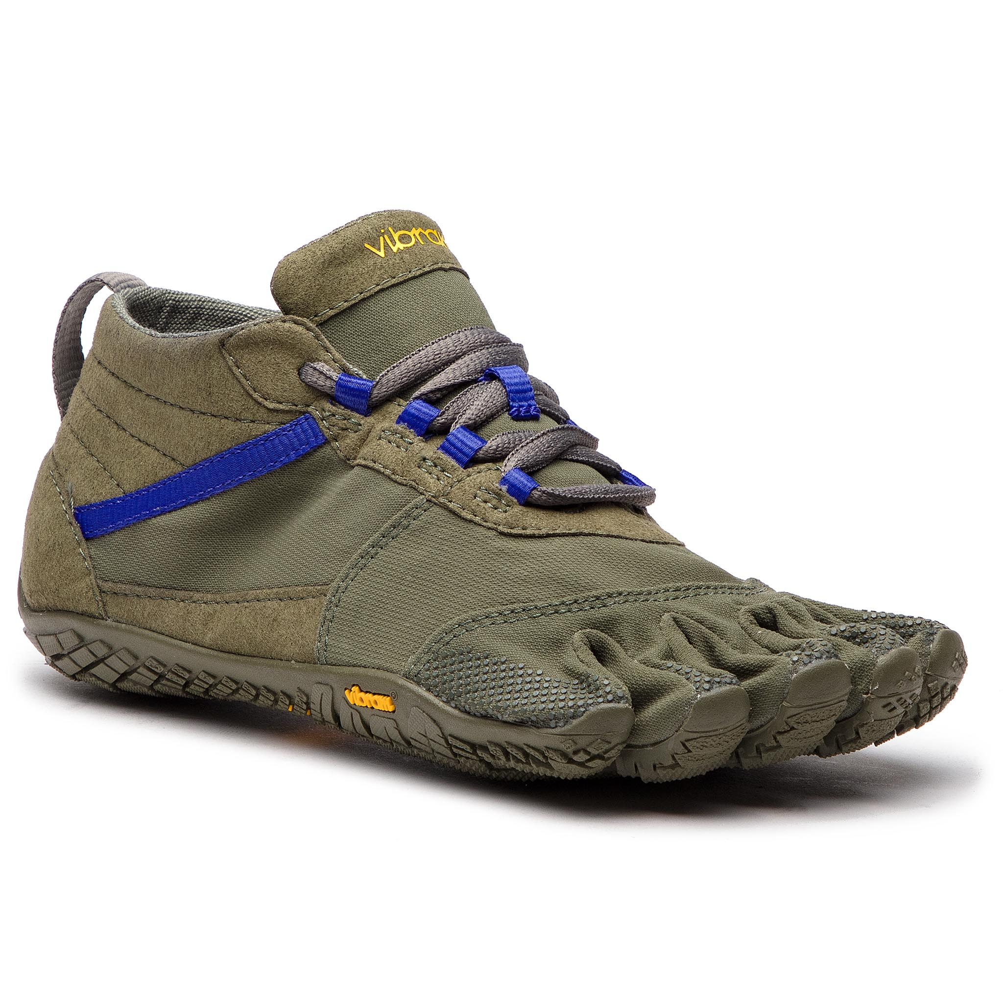 Pantofi Vibram Fivefingers - V-Trek 18w7402 Military/Purple imagine epantofi.ro 2021