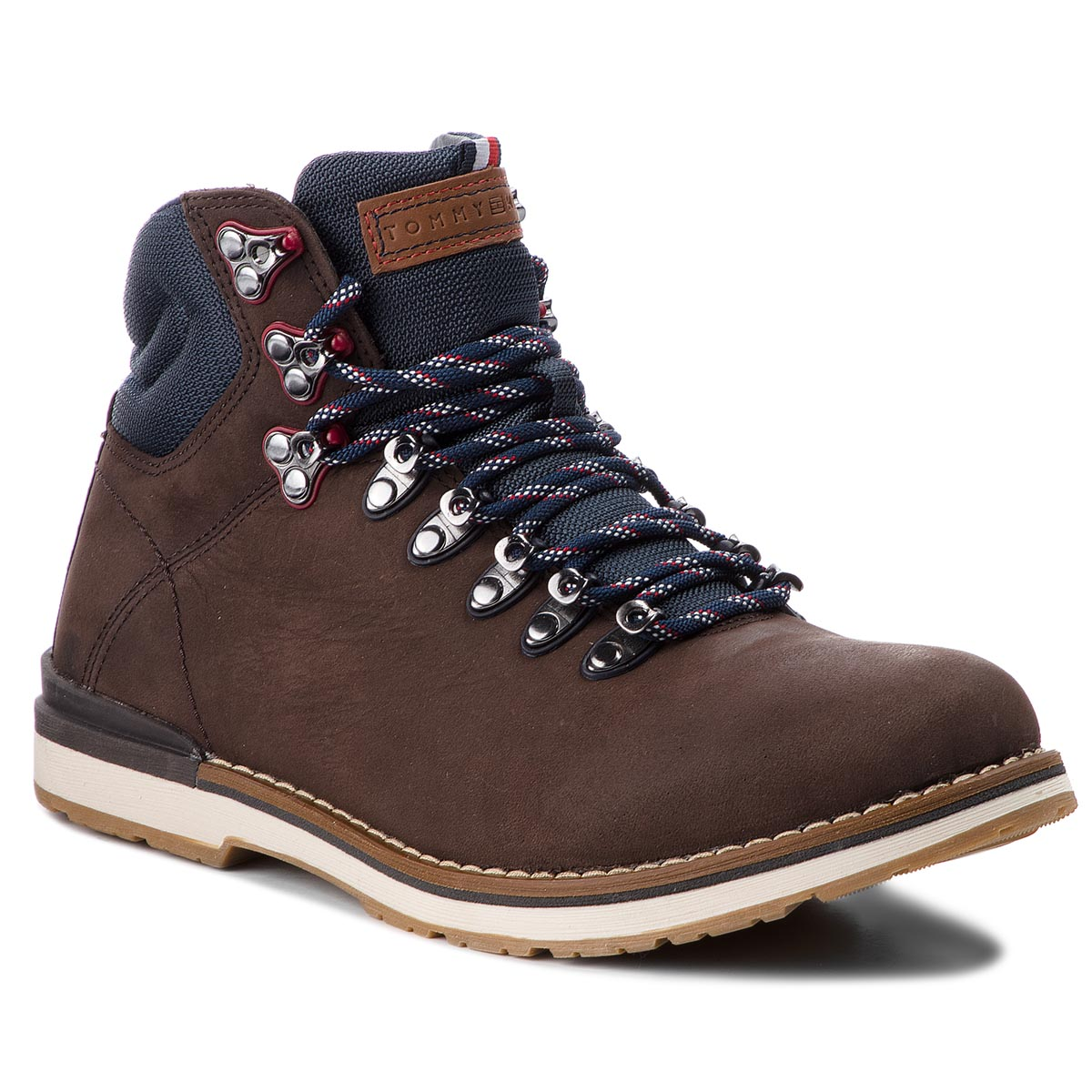Trappers TOMMY HILFIGER - Outdoor Hiking Detail Boot FM0FM01755 Coffee 211