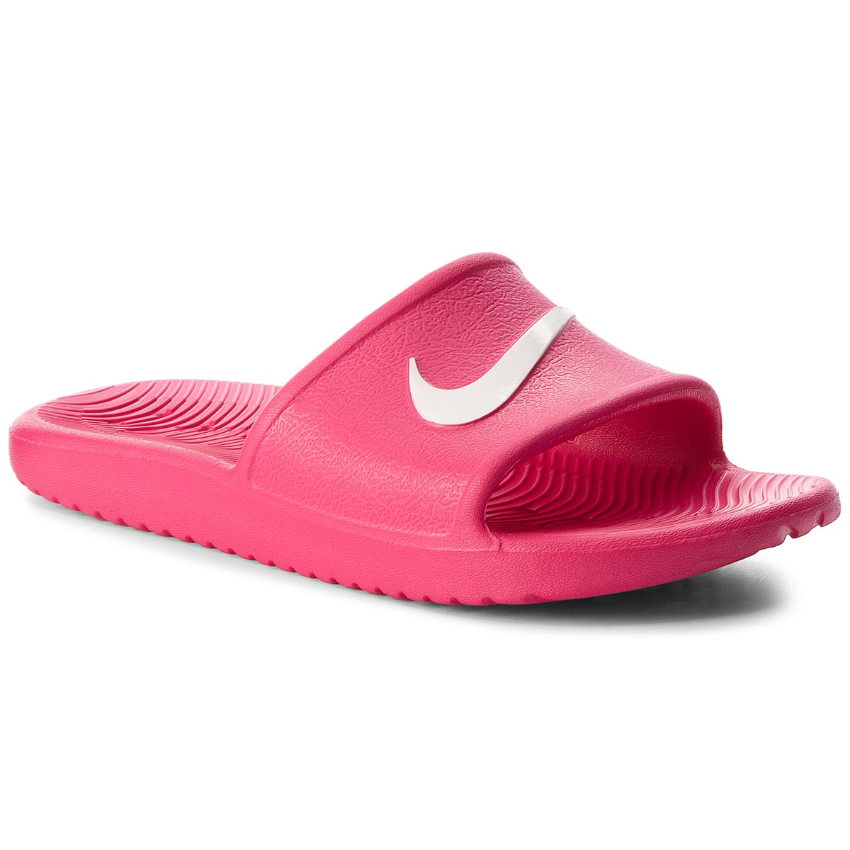 Șlapi NIKE - Kawa Shower (GS) AQ0899 601 Rush Pink/White