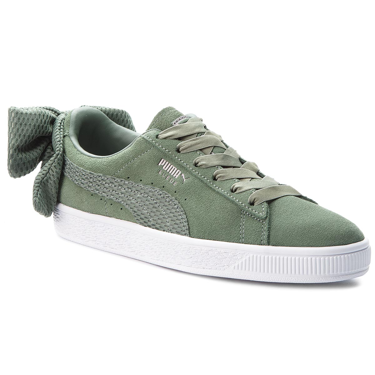 Sneakers PUMA - Suede Bow Uprising Wn's 367455 02 Laurel Wreath/Puma White