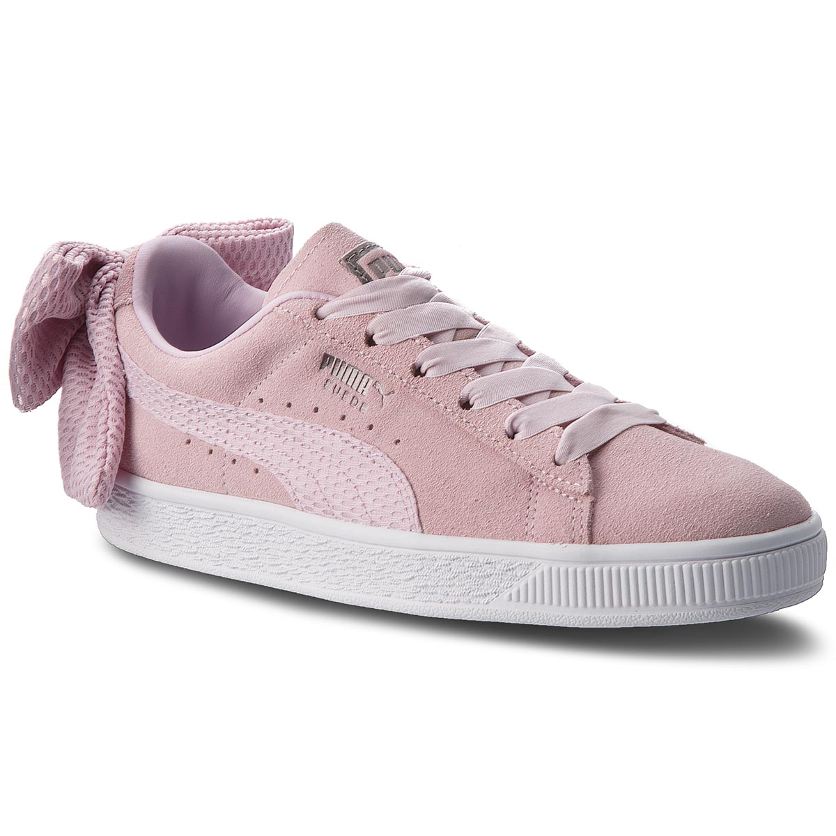 Sneakers PUMA - Suede Bow Uprising Wn's 367455 03 Winsome Orchid/Puma White