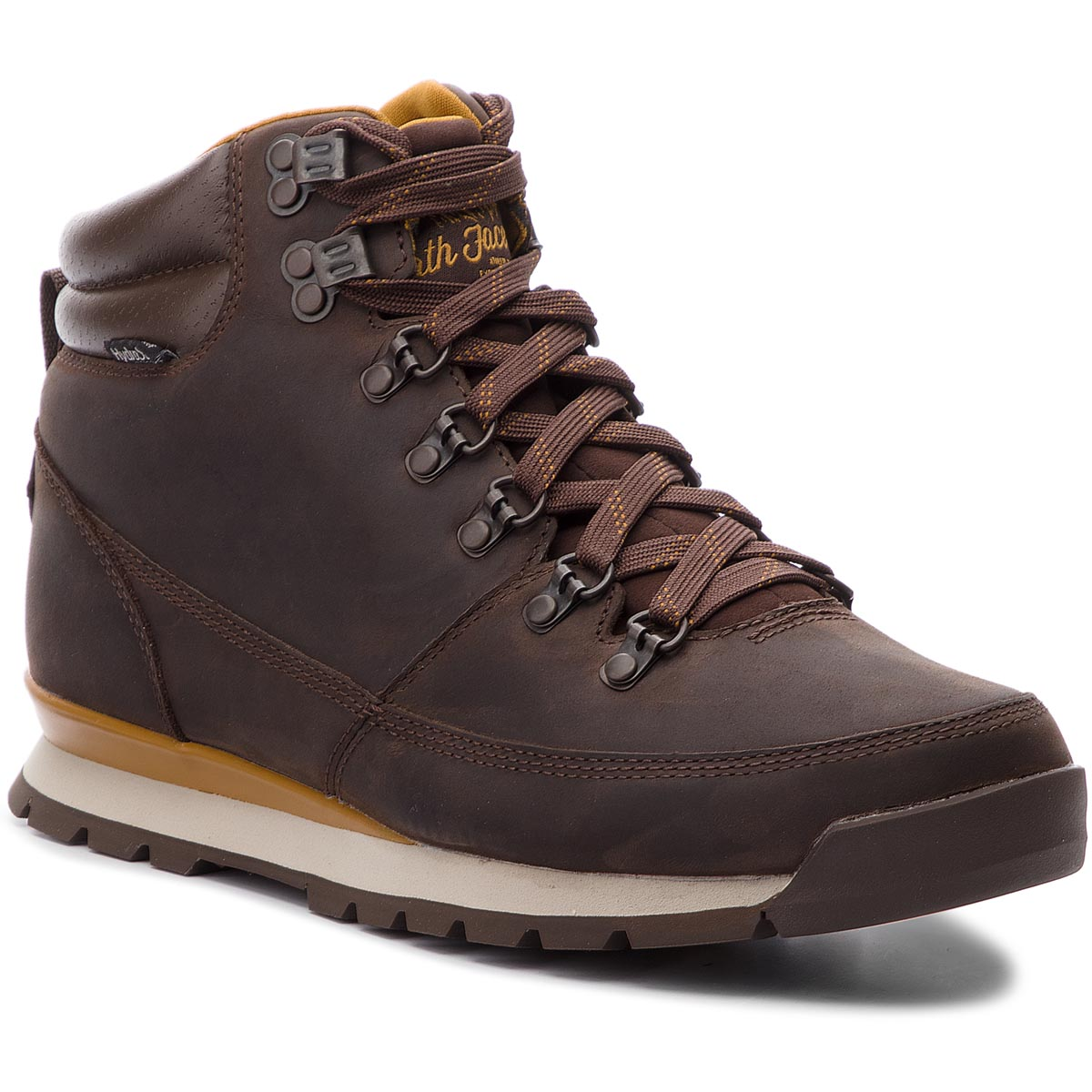 Trekkings The North Face - Back-To-Berkeley Redux Leather T0cdl05sh Chocolate Brown/Golden Brown imagine epantofi.ro 2021