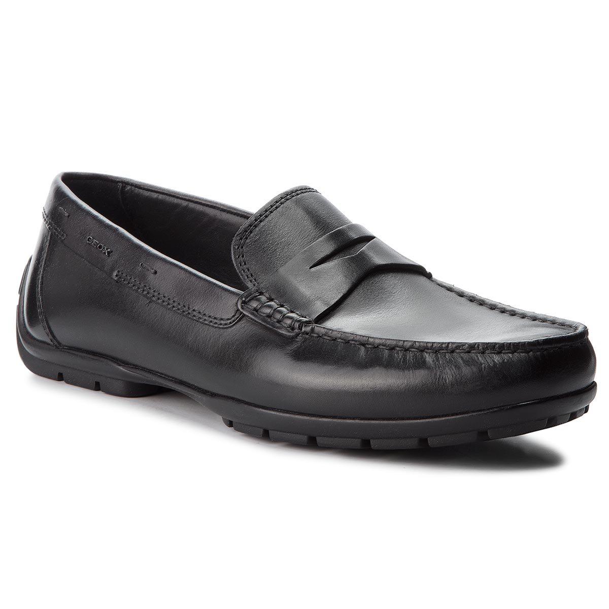Mocasini GEOX - U Moner W 2Fit D U44Q6D 00043 C9999 Black