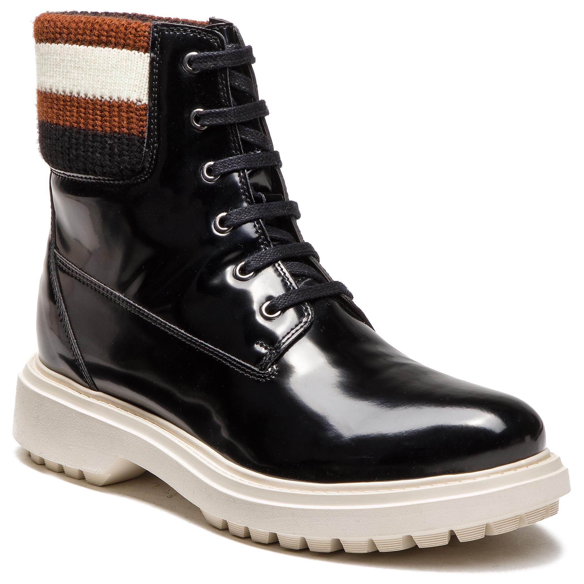 Trappers GEOX - A Asheely B D847AB 000BC C9999 Black