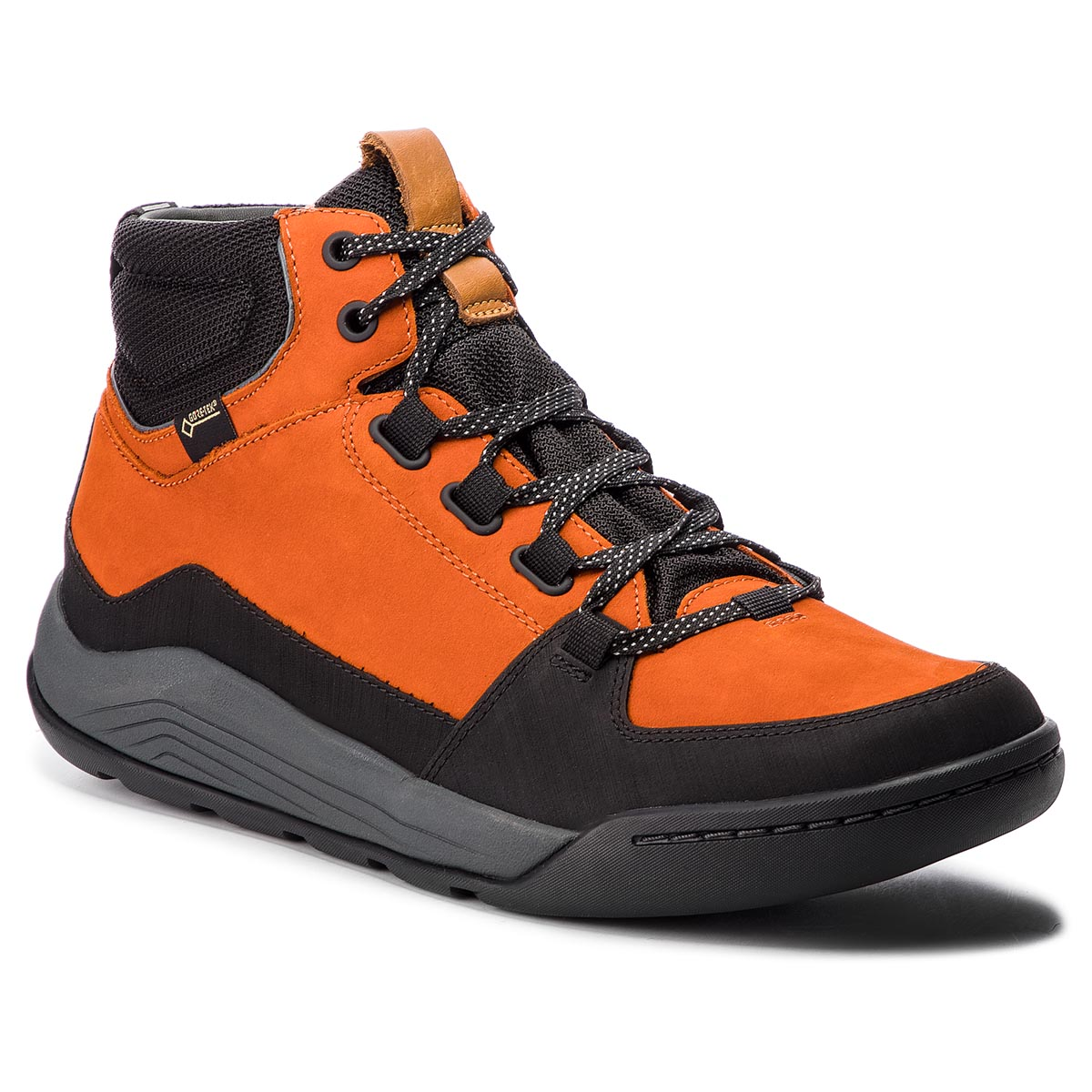 Ghete CLARKS - AshcombeArkGtx GORE-TEX 261354137 Burnt Orange