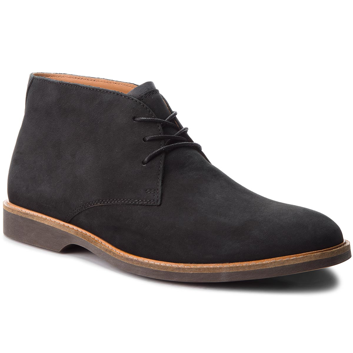 Ghete CLARKS - Atticus Limit 261367387 Black Nubuck