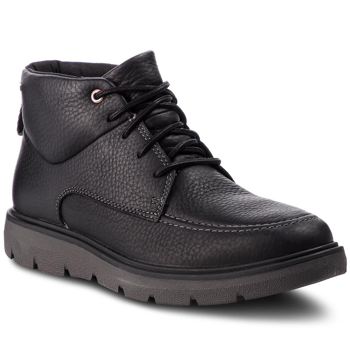 Ghete CLARKS - Un Map Mid Gtx GORE-TEX 261367957 Black Leather