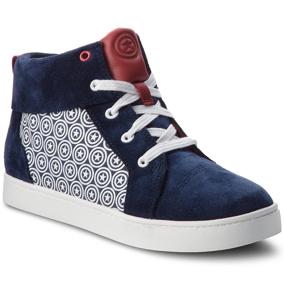 Ghete CLARKS - City Hero Hi 261376267 Blue Suede