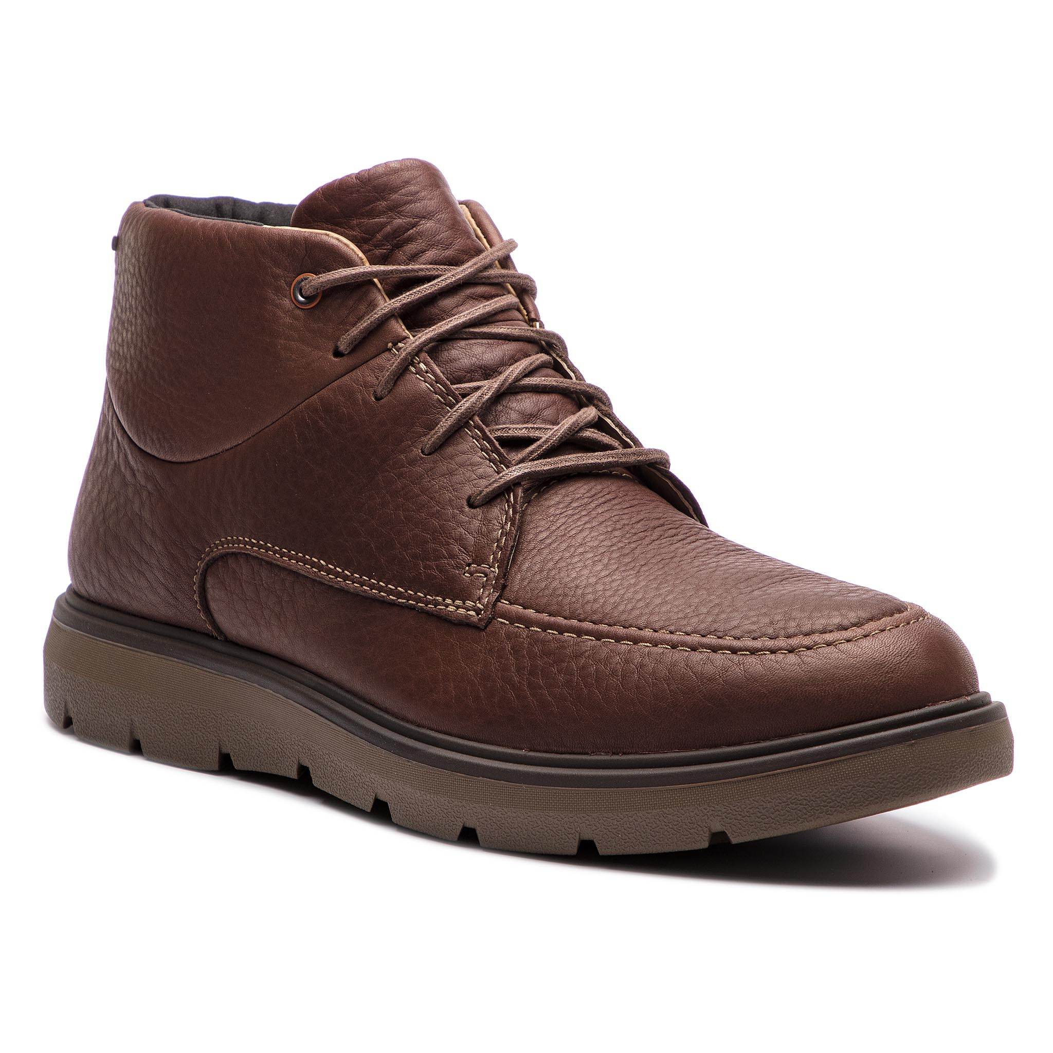 Ghete CLARKS - Un Map Warm Gtx GORE-TEX 261385337 Dark Brown Lea