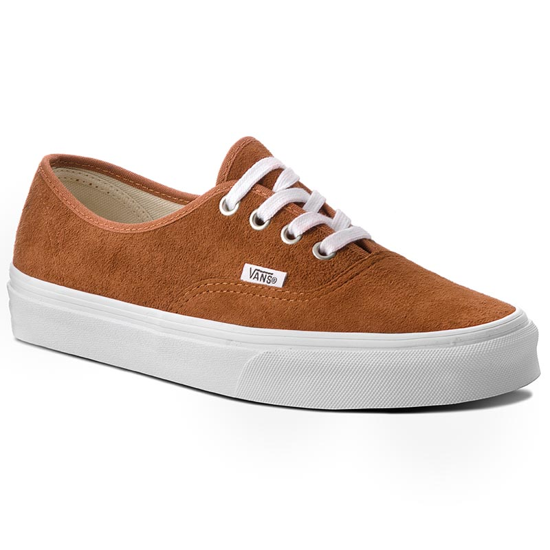 Teniși VANS - Authentic VN0A38EMU5K (Pig Suede) Leather Brown