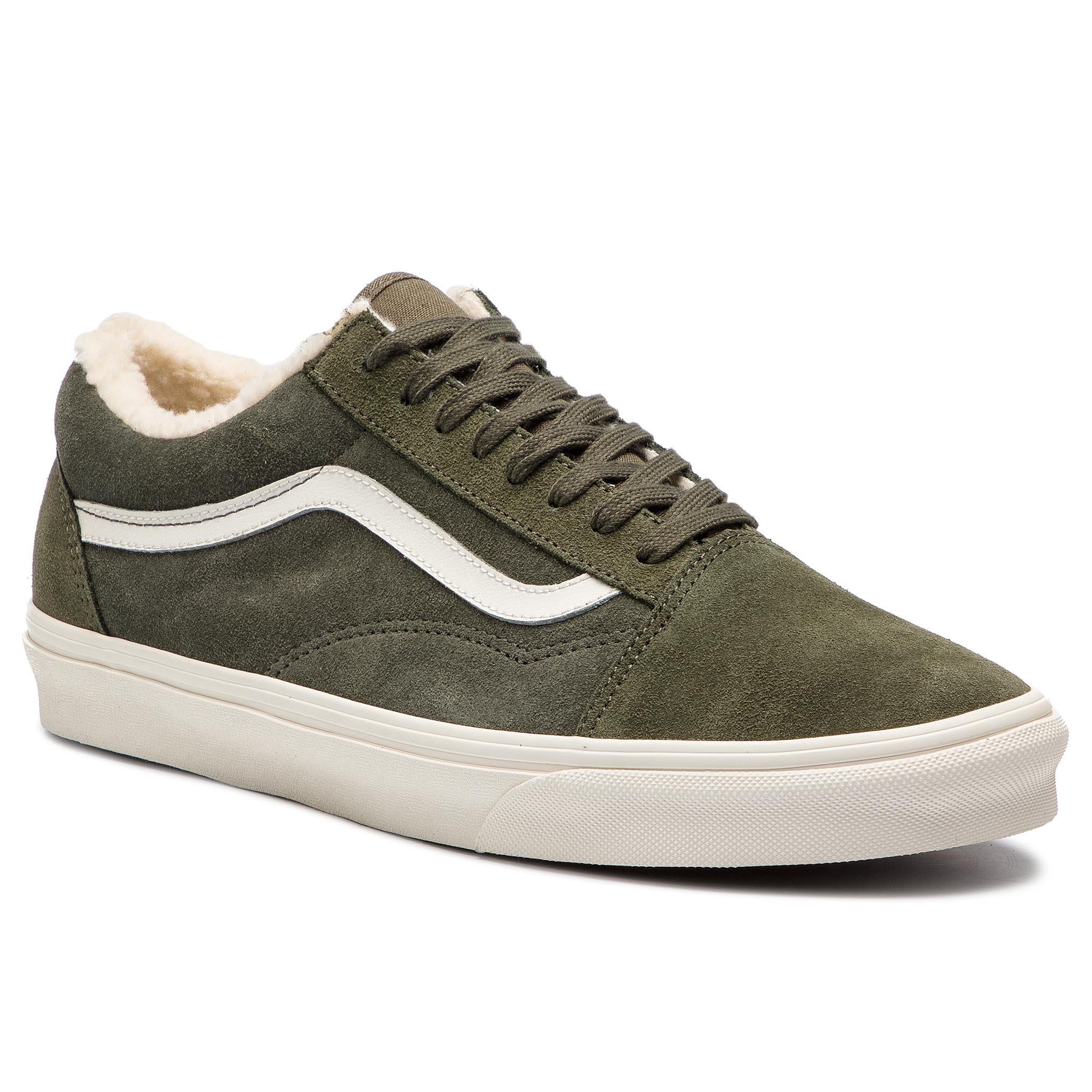 Teniși VANS - Old Skool VN0A38G1ULZ1 (Suede/Sherpa) Grape Leaf