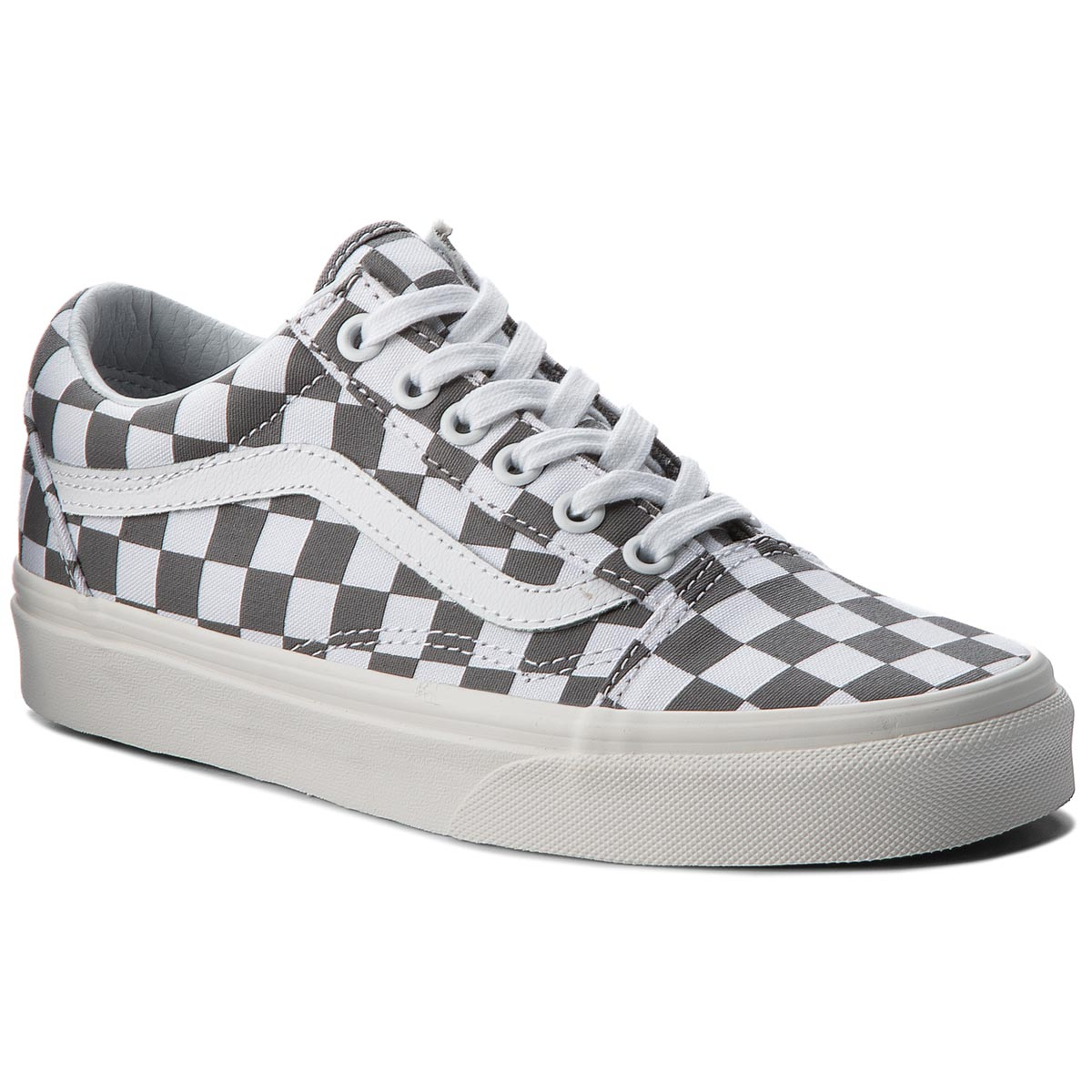 Teniși VANS - Old Skool VN0A38G1U53 (Checkerboard) Pewter/Marshmallow