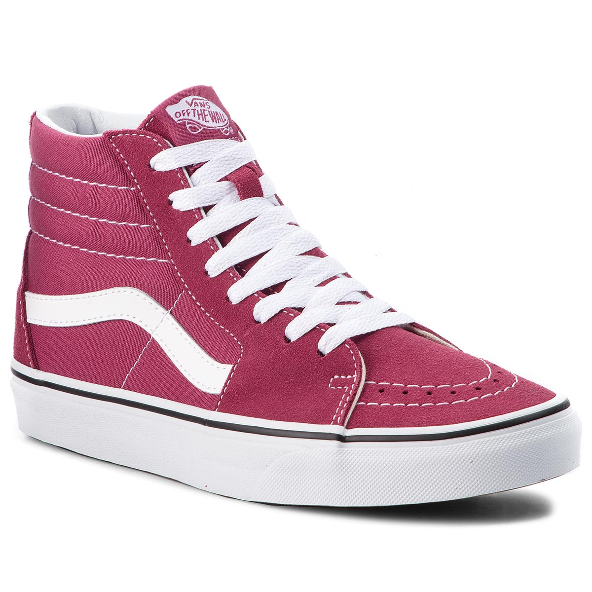 Sneakers VANS - Sk8-Hi VN0A38GEU64 Dry Rose/True White