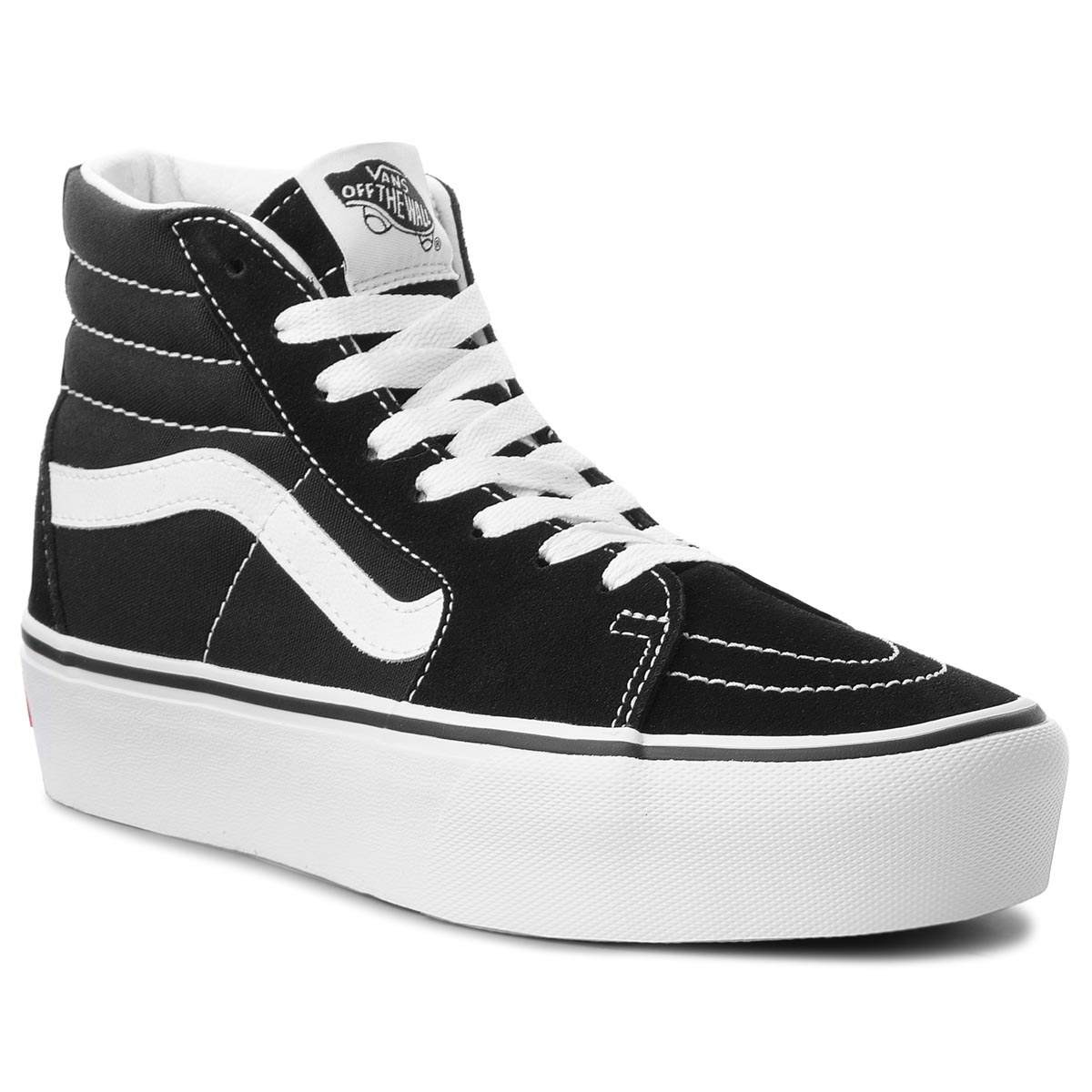 Sneakers VANS - Sk8-Hi Platform 2 VN0A3TKN6BT Black/True White