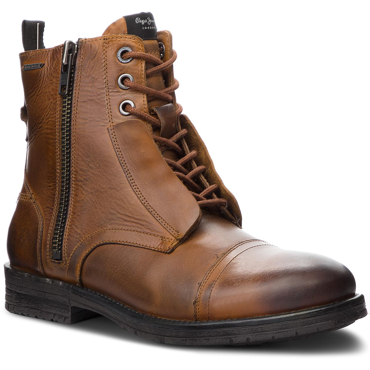Cizme PEPE JEANS - Tom Cut Boot PMS50162 Tan 869