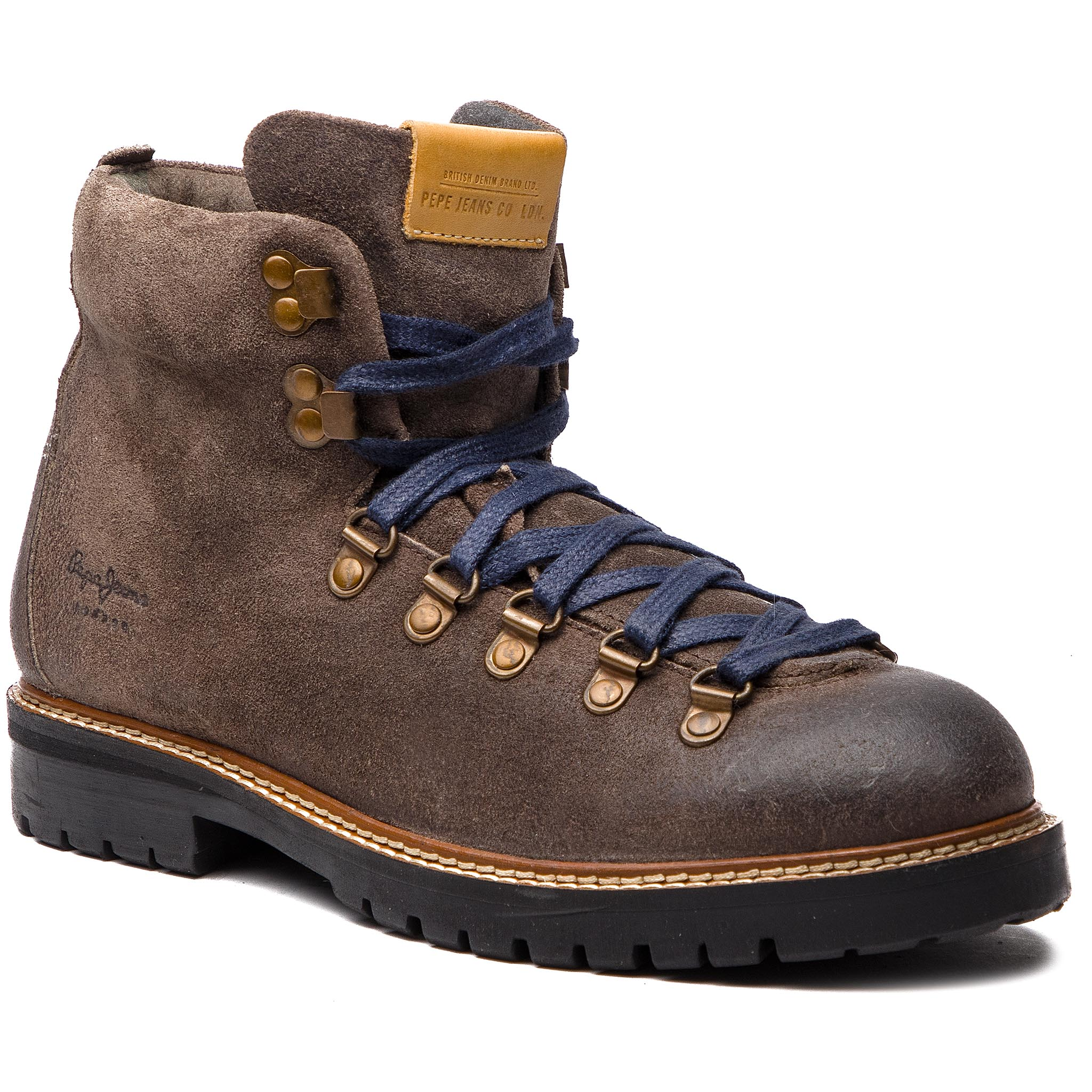 Cizme PEPE JEANS - Sherpa Boot Sde PMS50166 Stag 884
