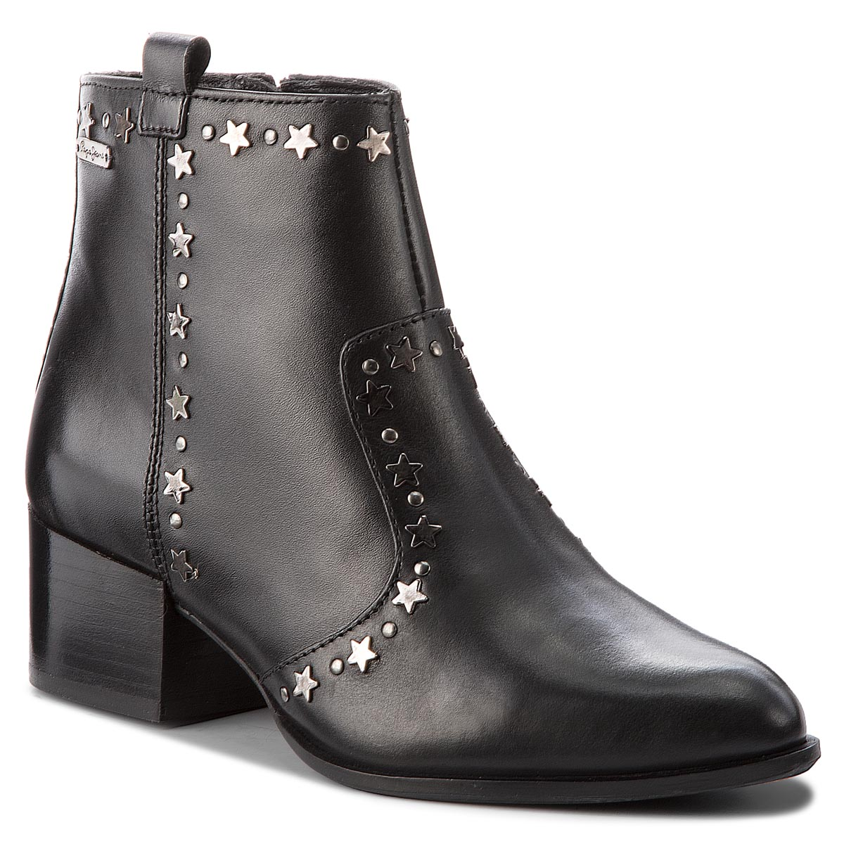 Botine PEPE JEANS - Waterloo Stars PLS50312 Black 999