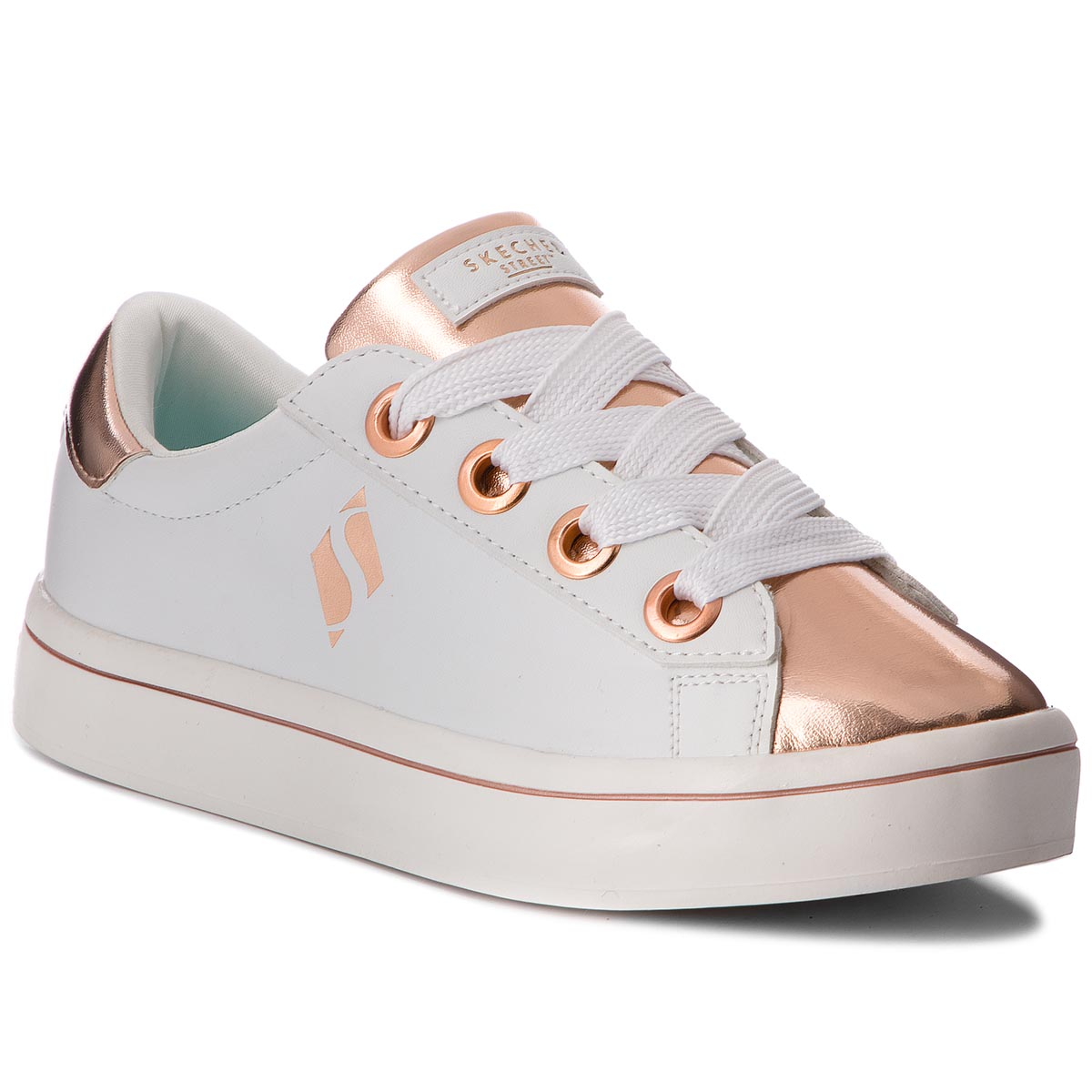 Sneakers SKECHERS - Medal Toes 84688L/WTRG White Rose Gold