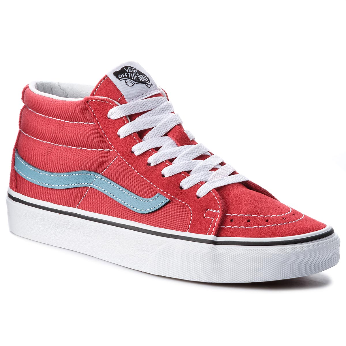 Sneakers VANS - Sk8-Mid Reissure VN0A3MV8Q8C Rococco Red/Adriatic Blue