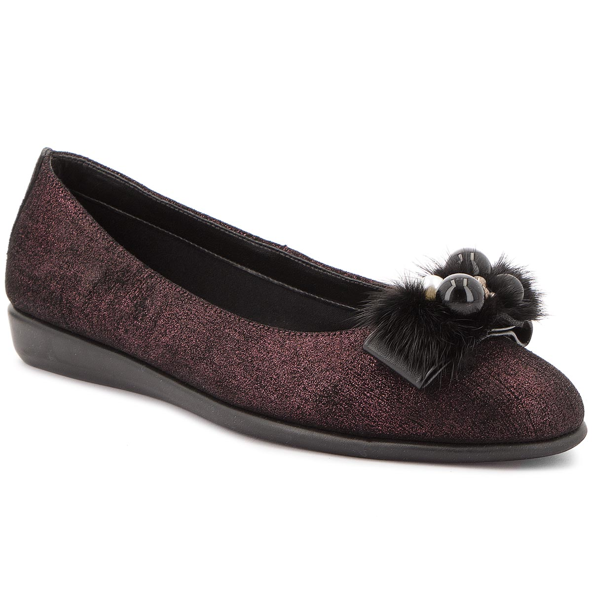 Balerini The Flexx - Chic Rise 2101/114 Bordo imagine epantofi.ro