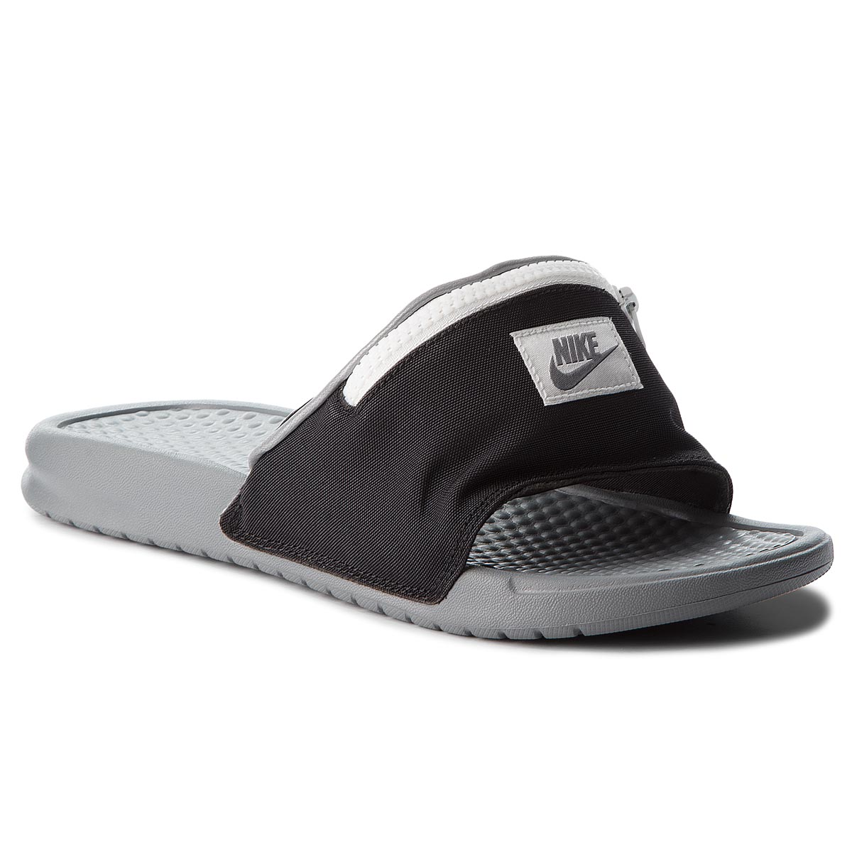 Șlapi NIKE - Benassi Jdi Fanny AO1037 001 Black/Cool Grey/Summit White