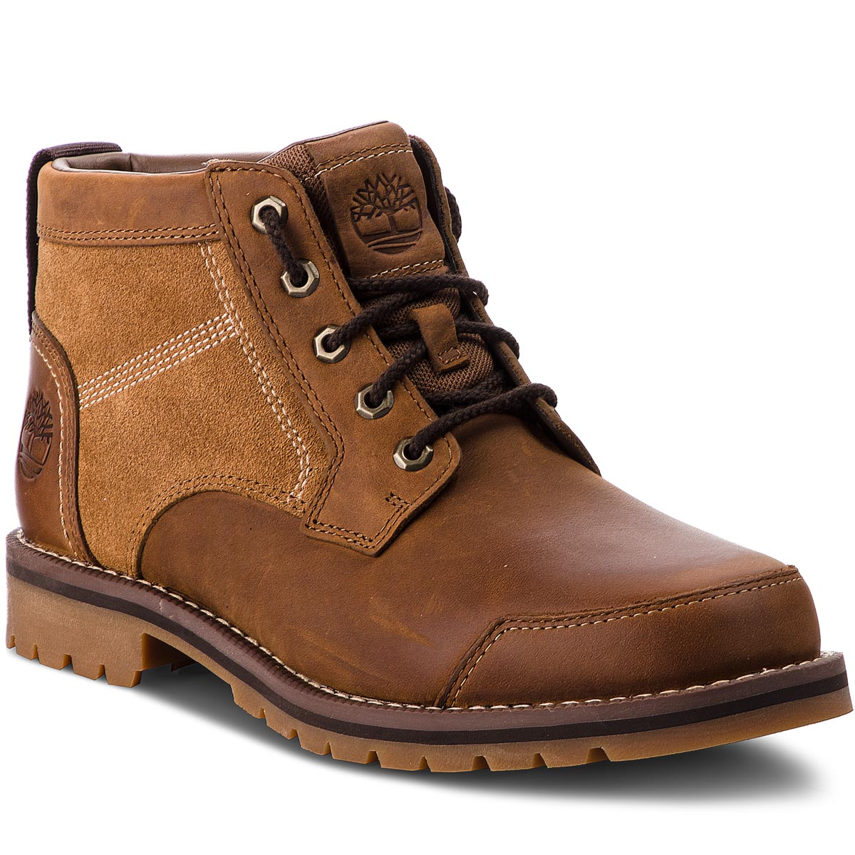 Trappers TIMBERLAND - Larchmont Chukka TB0A13HD Brown imagine