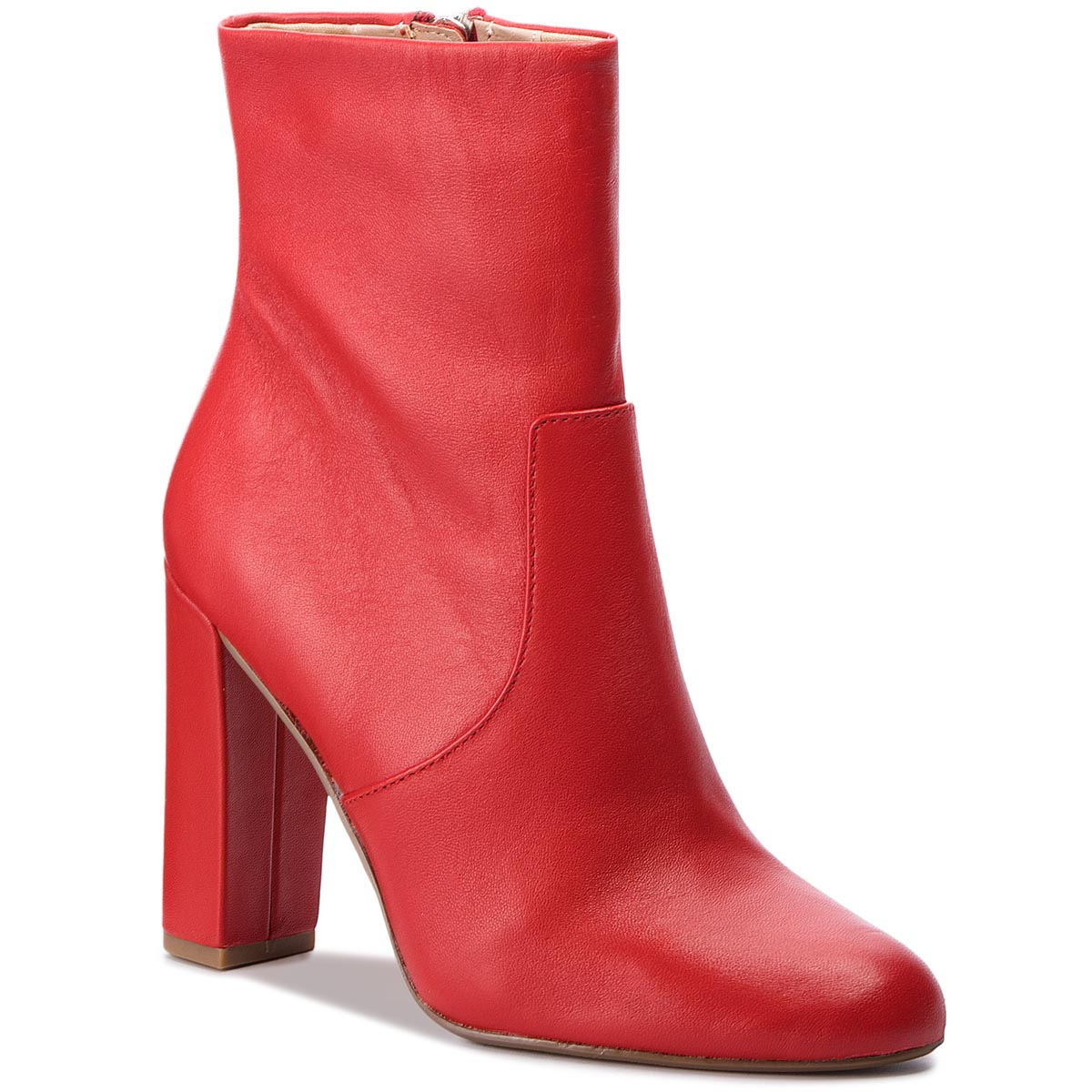 Botine STEVE MADDEN - Editor Ankle Boot SM11000088-03001-607 Red Leather