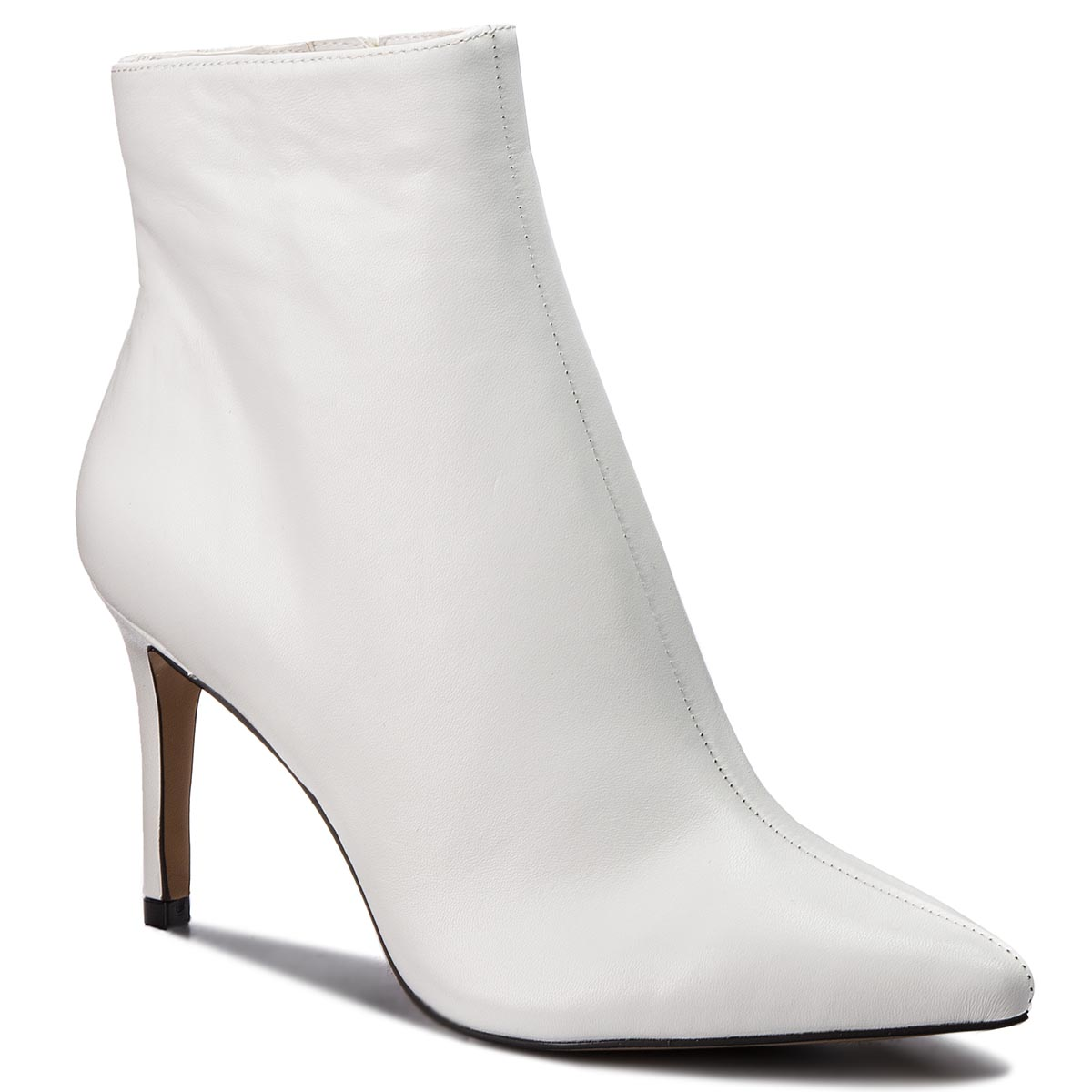 Botine STEVE MADDEN - Logic Ankle Boot SM11000195-03001-107 White Leather