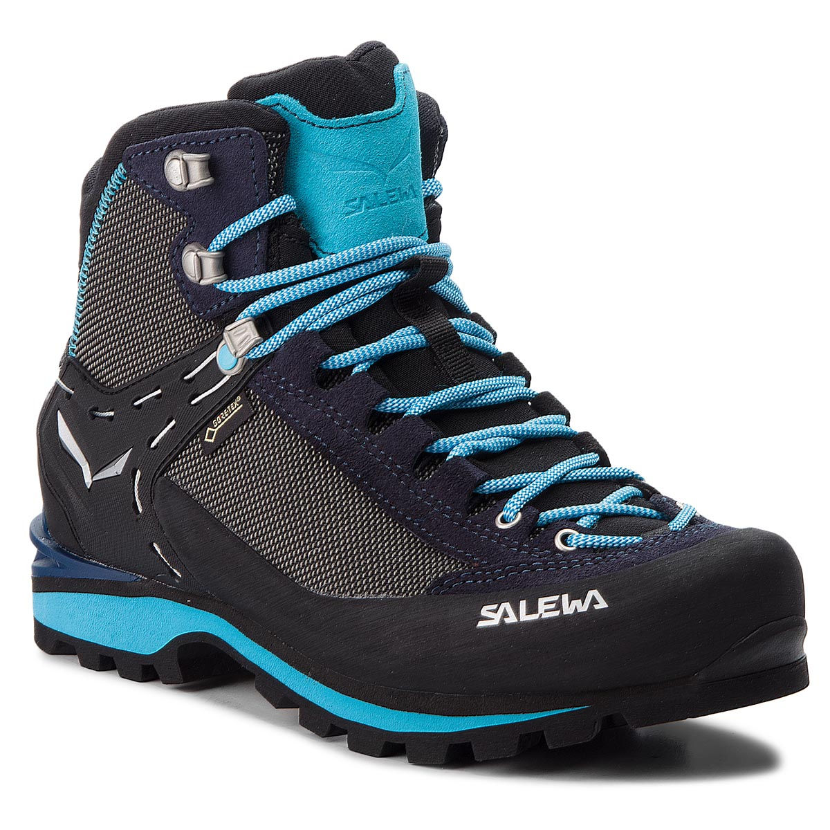 Trekkings Salewa - Crow Gtx Gore-Tex 61329-3985 Premium Navy/Ethernal Blue imagine epantofi.ro 2021