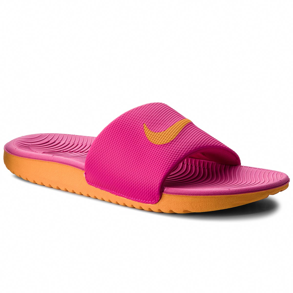 Șlapi NIKE - Kawa Slide 834588 605 Pink Prime/Orange Peel