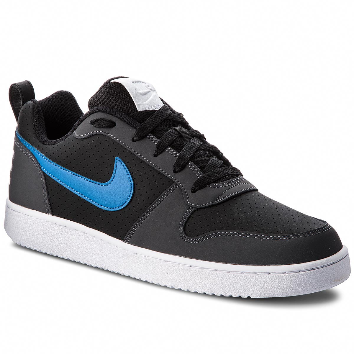 Pantofi NIKE - Court Borough Low 838937 006 Black/Blue Nebula/Dark Grey