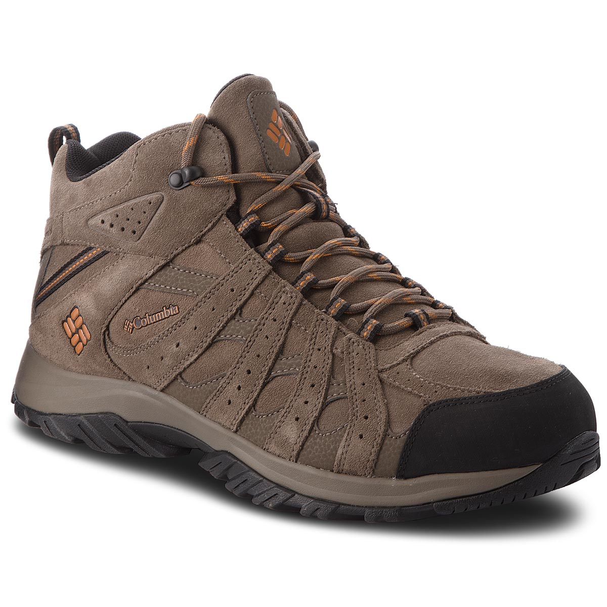 Trekkings COLUMBIA - Canyon Point Mid Leather YM5472 Mud/Bright Copper 255