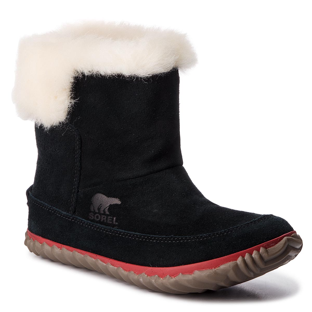 Botine SOREL - Out N About Bootie NL3073 Black/Natural 010