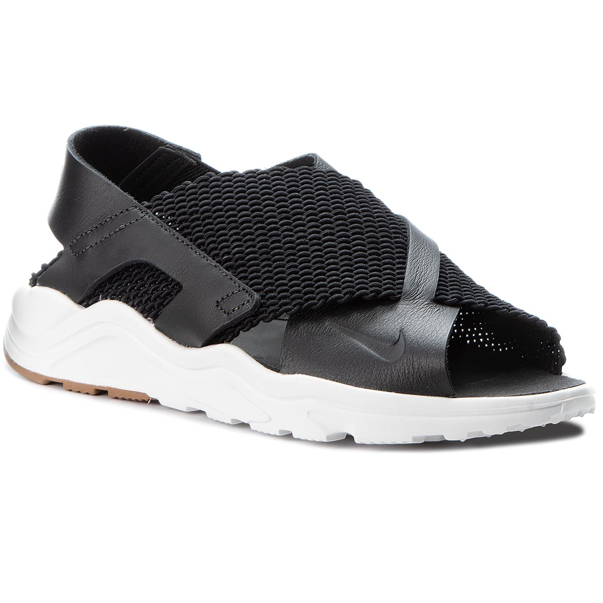 Sandale NIKE - Air Huarache Huearache Ultra 885118 001 Black/Black/Sail/Gum Med Brown